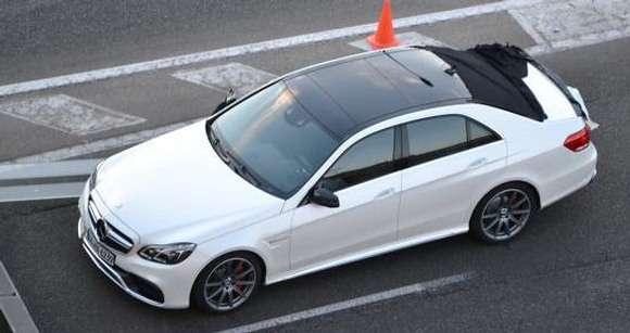 Mercedes klasy E Facelift 2013