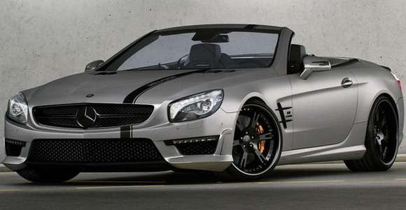 Mercedes SL 63 AMG tuning