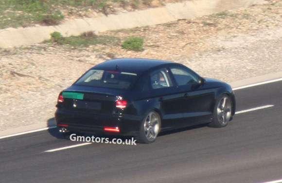 Audi A3 Sedan 2014 szpiegowskie
