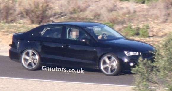 Audi A3 Sedan 2014 zdjęcie szpiegowskie