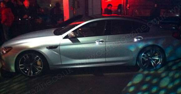 BMW M6 Gran Coupe bok wyciek