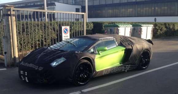Lamborghini Aventador Roadster zdjęcie szpiegowskie