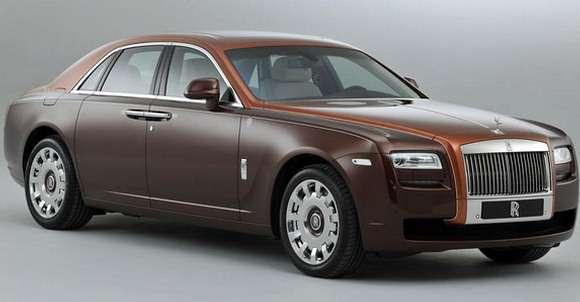 Specjalna edycja Rolls-Royce Ghost