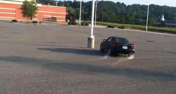 Toyota Celica FWD drift