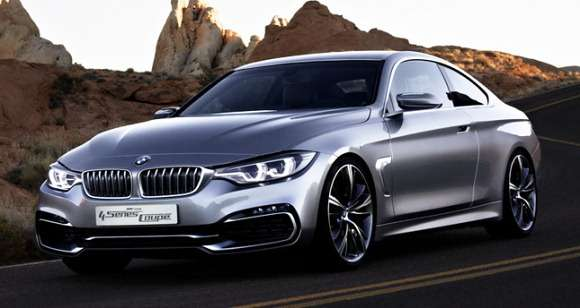 Nowe BMW serii 4 Coupe Concept