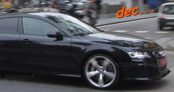 Audi RS7 szpiegowskie spy