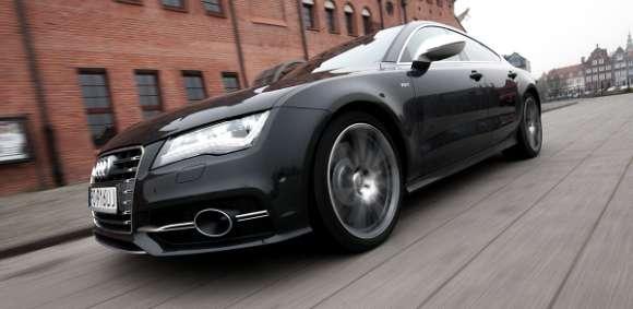 Audi S7 Sportback przód / bok