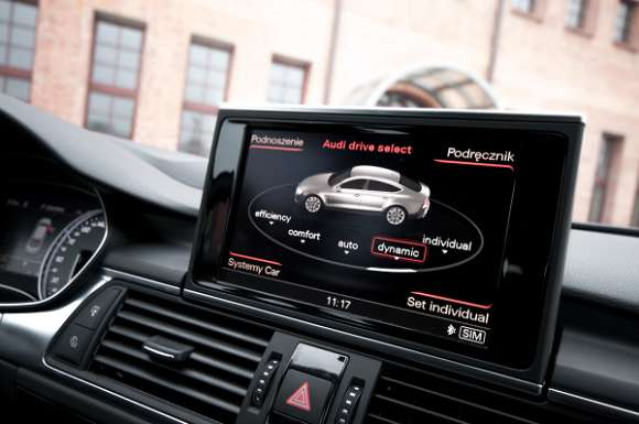 Audi S7 Sportback tryby