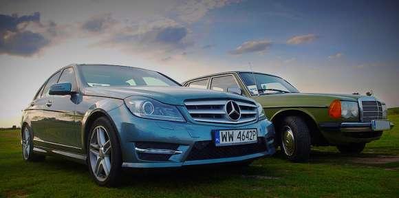 Mercedes klasy C szczegóły
