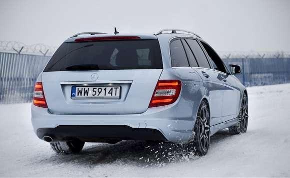 Nowy Mercedes klasy C tył
