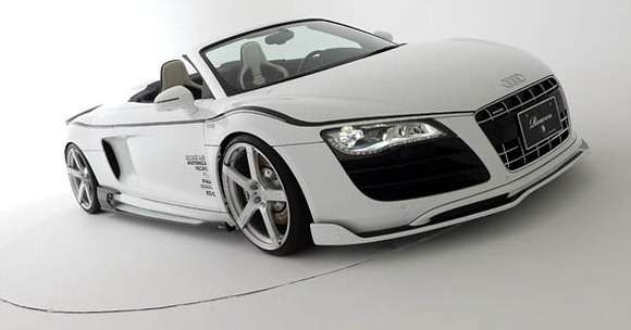 Audi R8 Spyder tuning