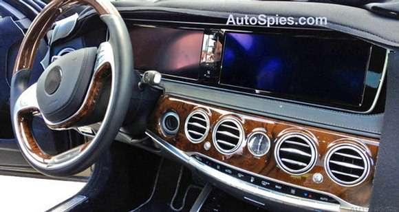 Wnętrze nowego Mercedesa klasy S
