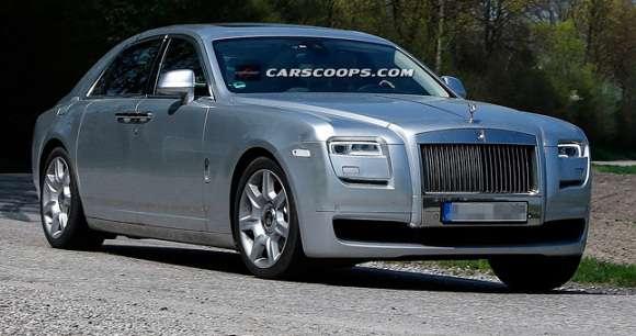 Rolls-Royce Ghost 2014 zdjęcie szpiegowskie