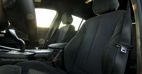 BMW M135i fotele
