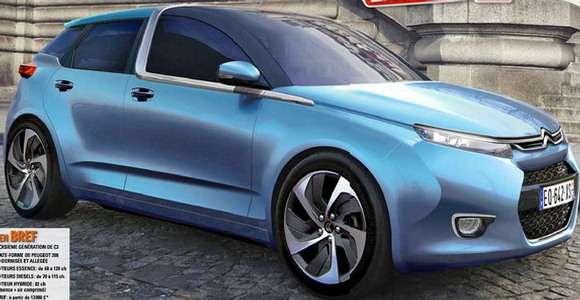 Citroen C3 2015 rendering