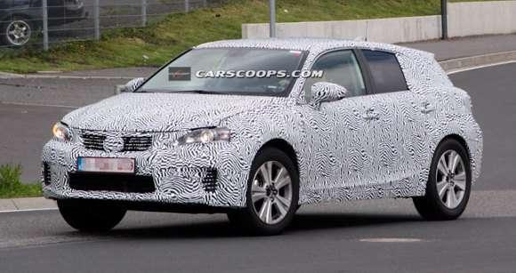 Lexus NX mule car