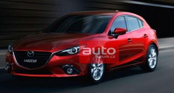 Mazda3 2014 wyciek