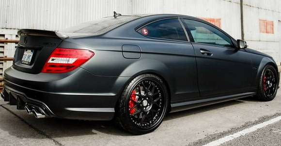 Mercedes C63 AMG Coupe tuning