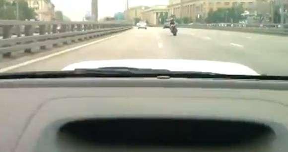 Subaru wypadek w tunelu Rosja