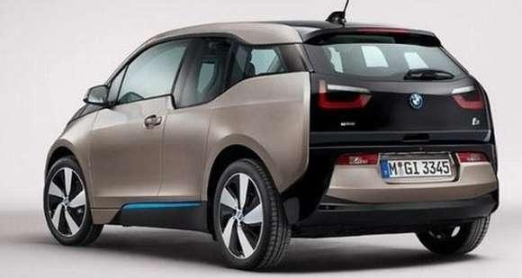 BMW i3 tył
