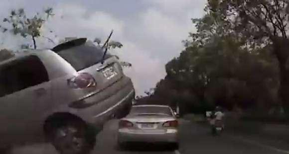 Daewoo Matiz crash wypadek
