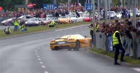 GT Polonia Koenigsegg crash