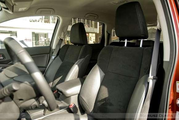 Nowa Honda CR-V fotele