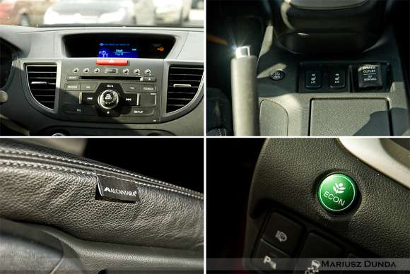 Nowa Honda CR-V wnętrze