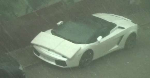 Lamborghini Gallardo Spyder gradobicie