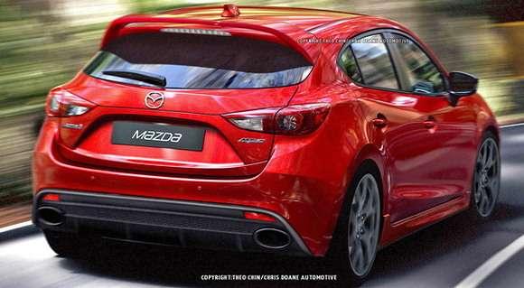 Mazda3 MPS 2015 rendering