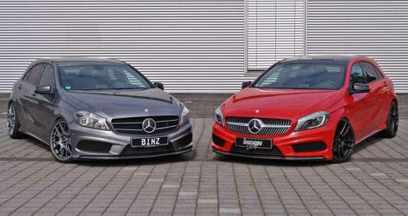 Mercedes klasy A 2012 tuning