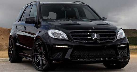Mercedes ML63 AMG tuning