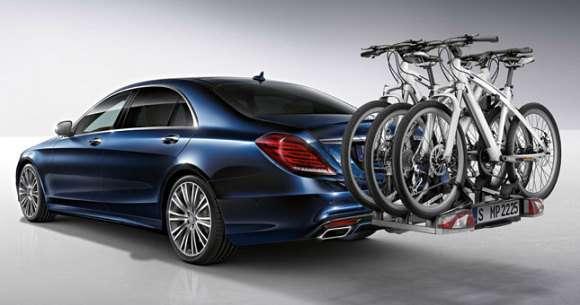 Nowy Mercedes klasy S bagażnik na rower