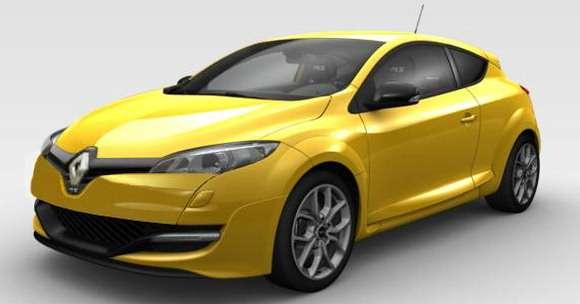 Renault Megane 2014 facelifting rendering