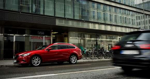 Mazda6 na ulicy